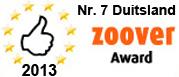 Bekijk de Zoover Award 2013